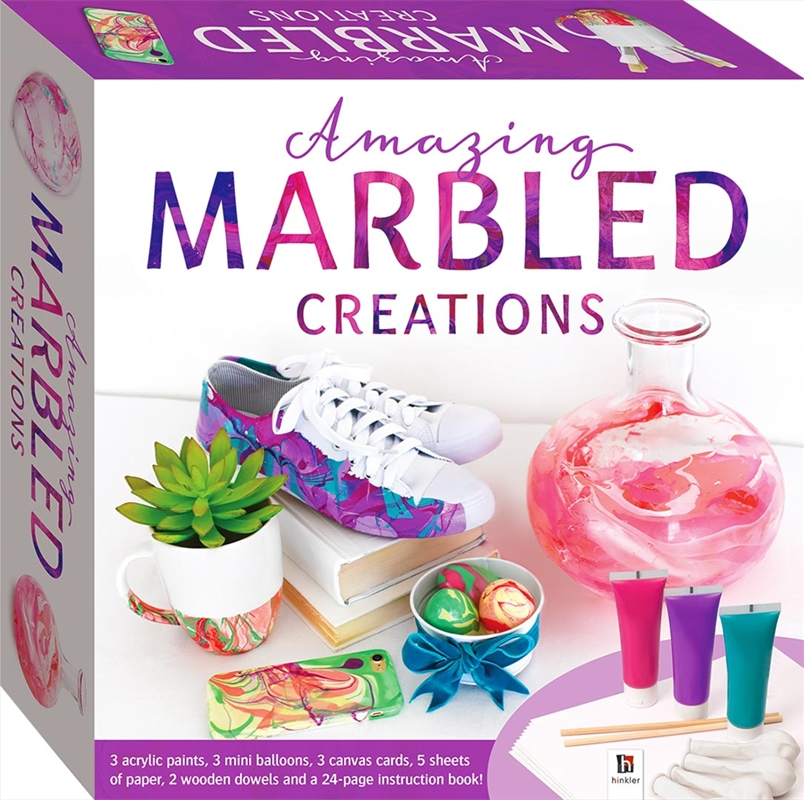 Amazing Marbled Creations Craft Kit | Merchandise