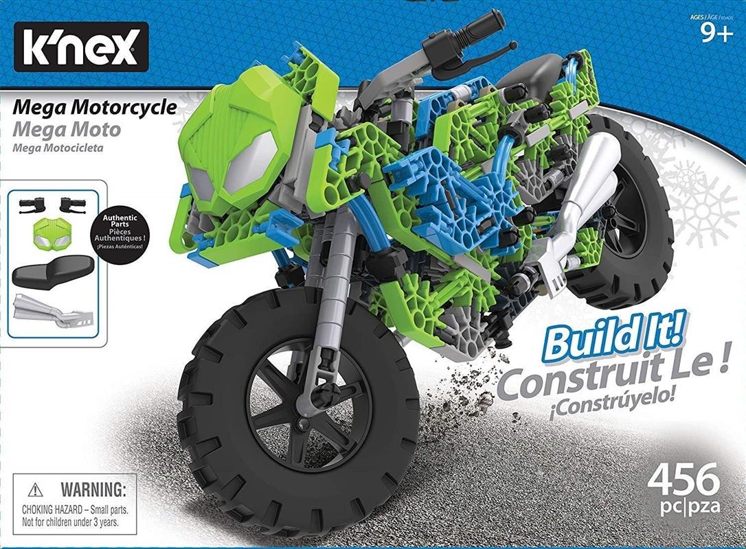 K'NEX - Mega Motorcycle Building Set | Toy