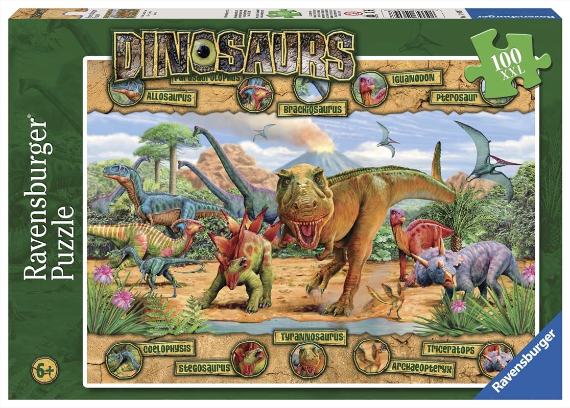 Dinosaurs Puzzle 100 Piece   Merchandise