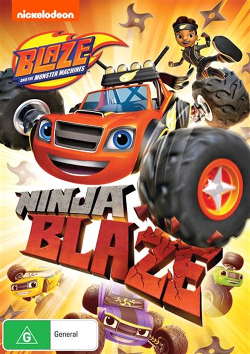 Blaze And The Monster Machines - Ninja Blaze | DVD