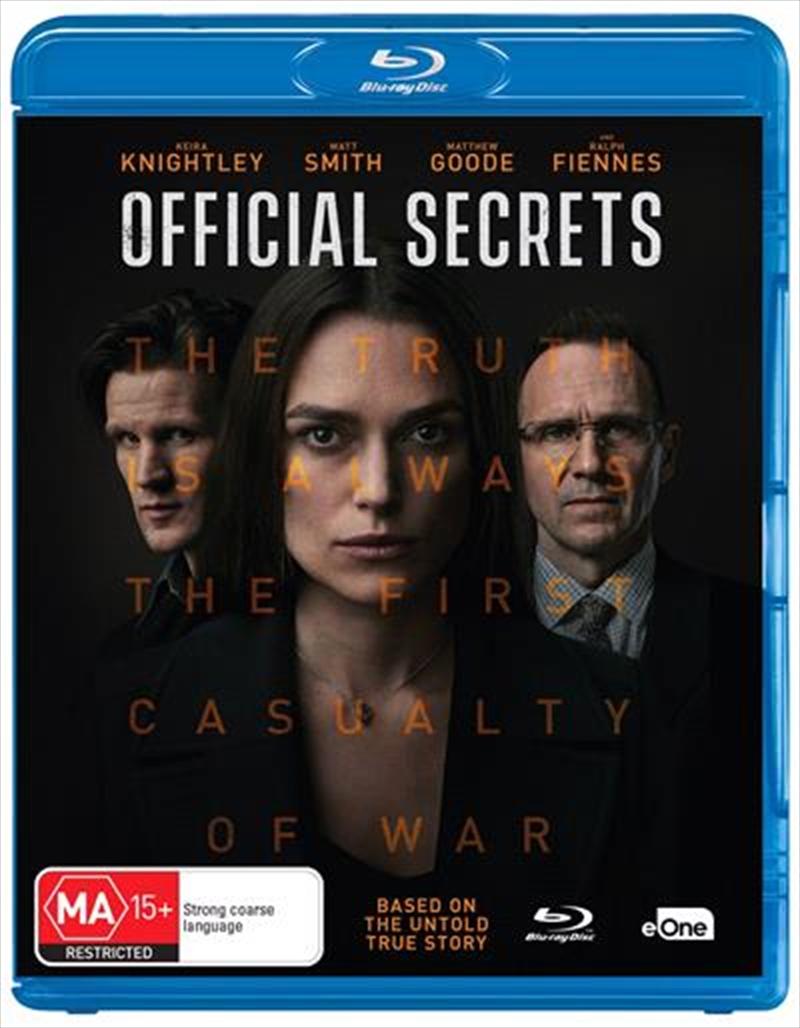 Official Secrets | Blu-ray