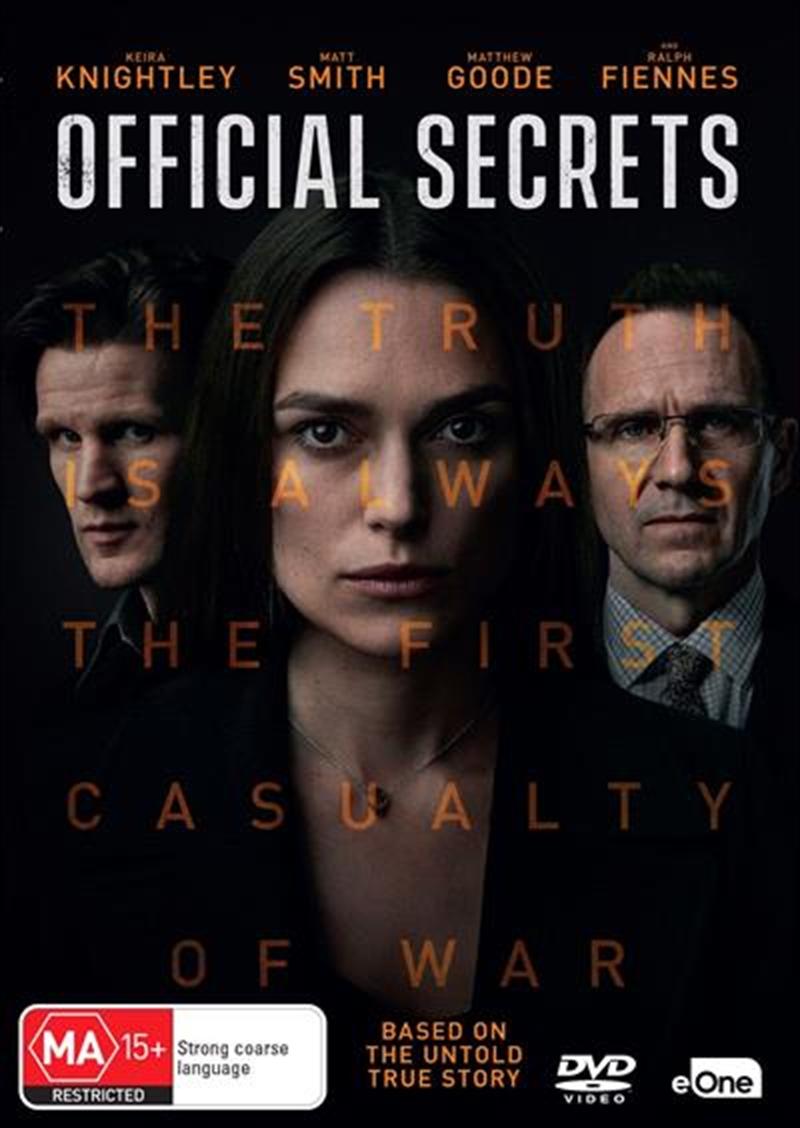 Official Secrets | DVD
