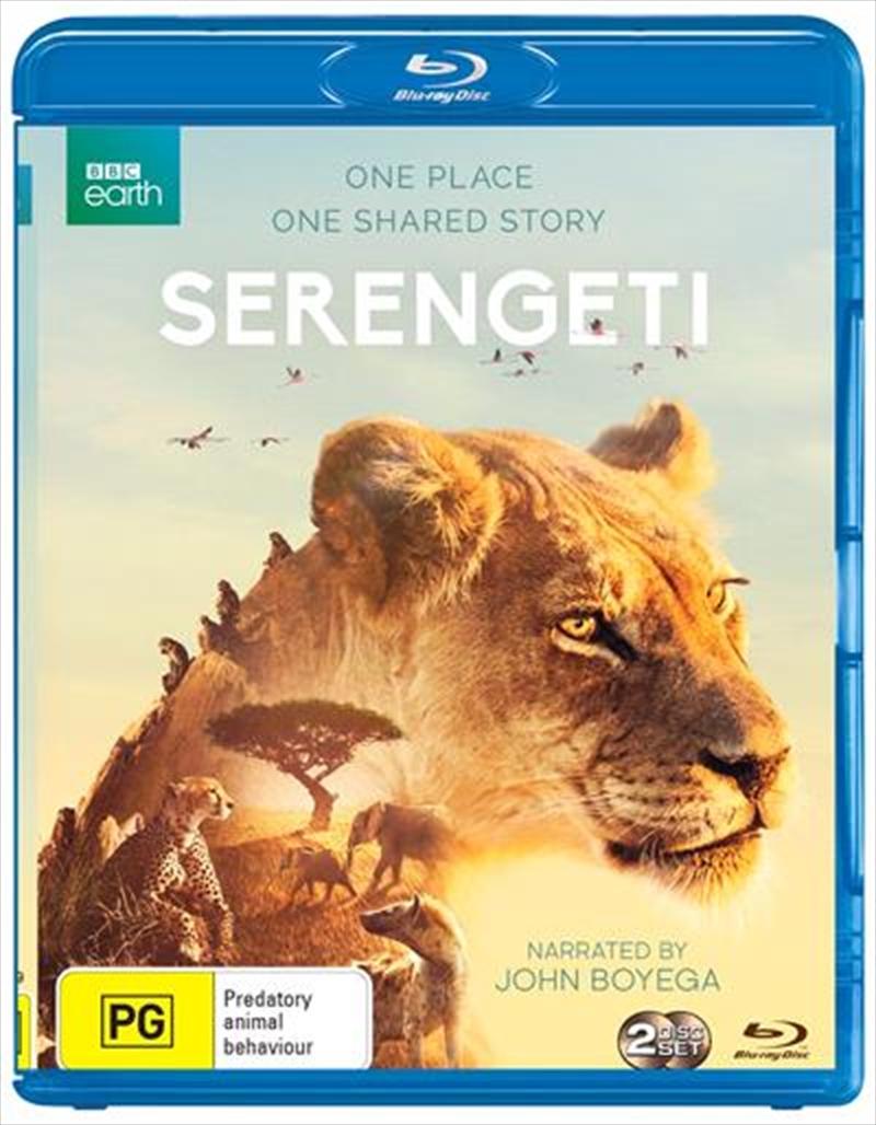 Serengeti   Blu-ray
