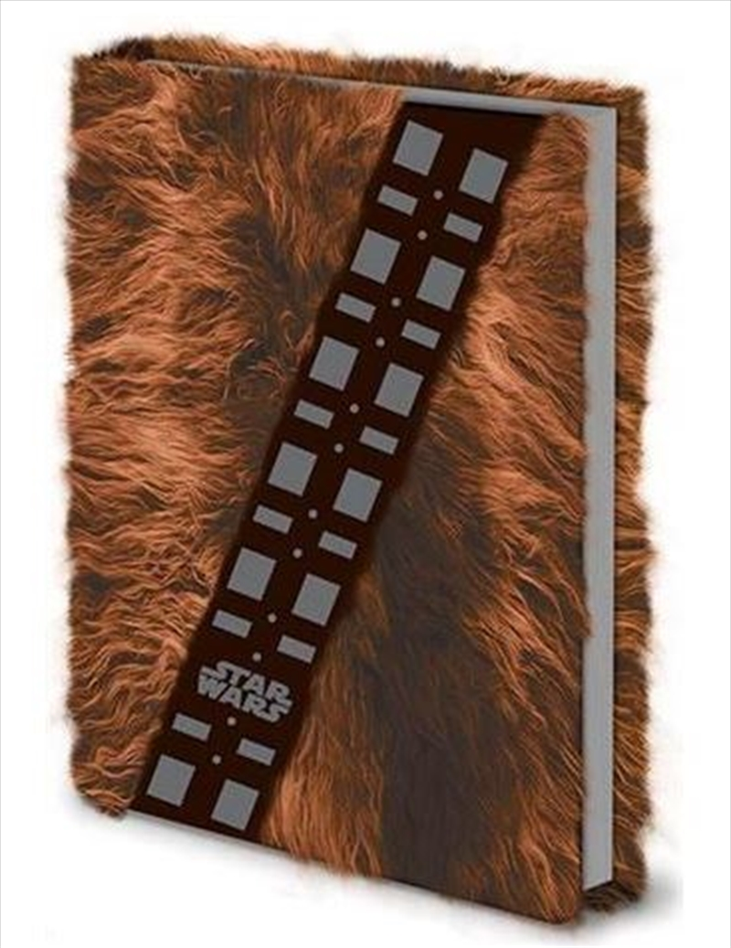 Star Wars - Chewbacca Fur - Premium A5 Notebook | Merchandise