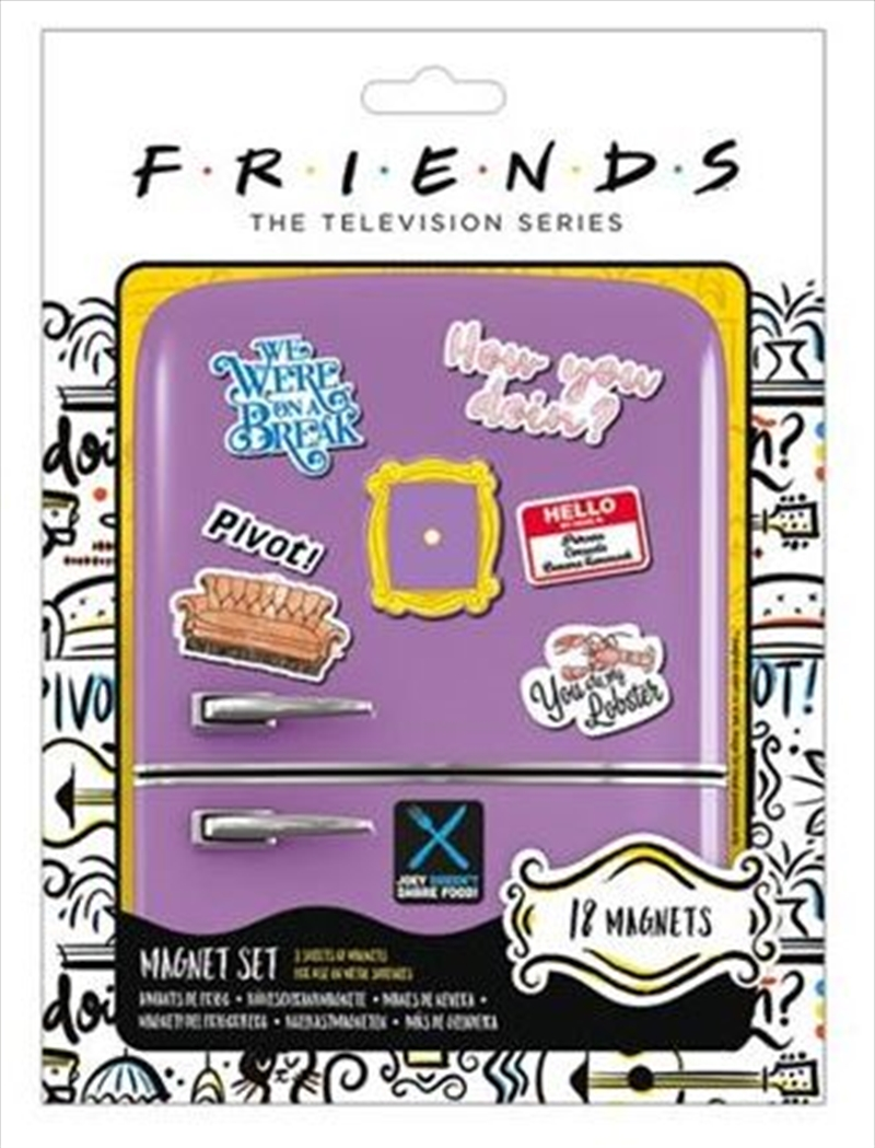 Friends - Magnet Set | Merchandise