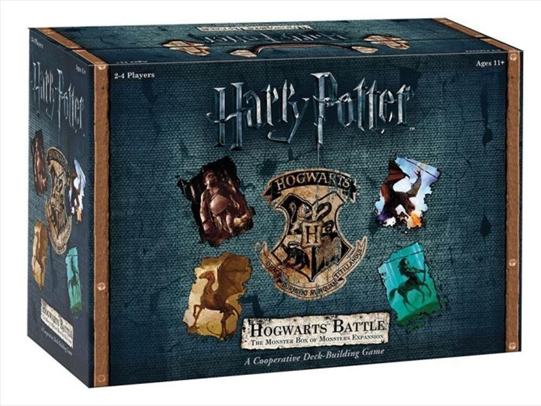 Harry Potter Hogwarts Battle the Monster Box of Monsters Expansion | Merchandise