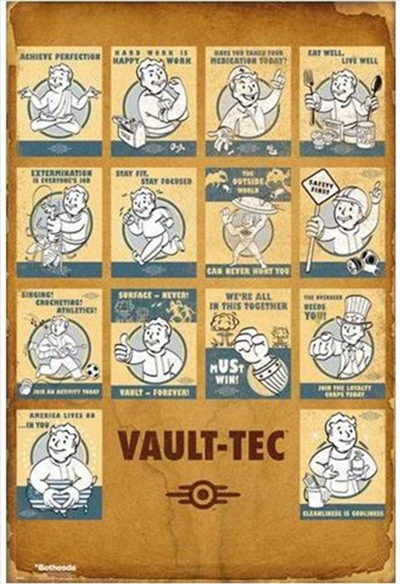 Fallout 4 - Vault Tec Compilation | Merchandise