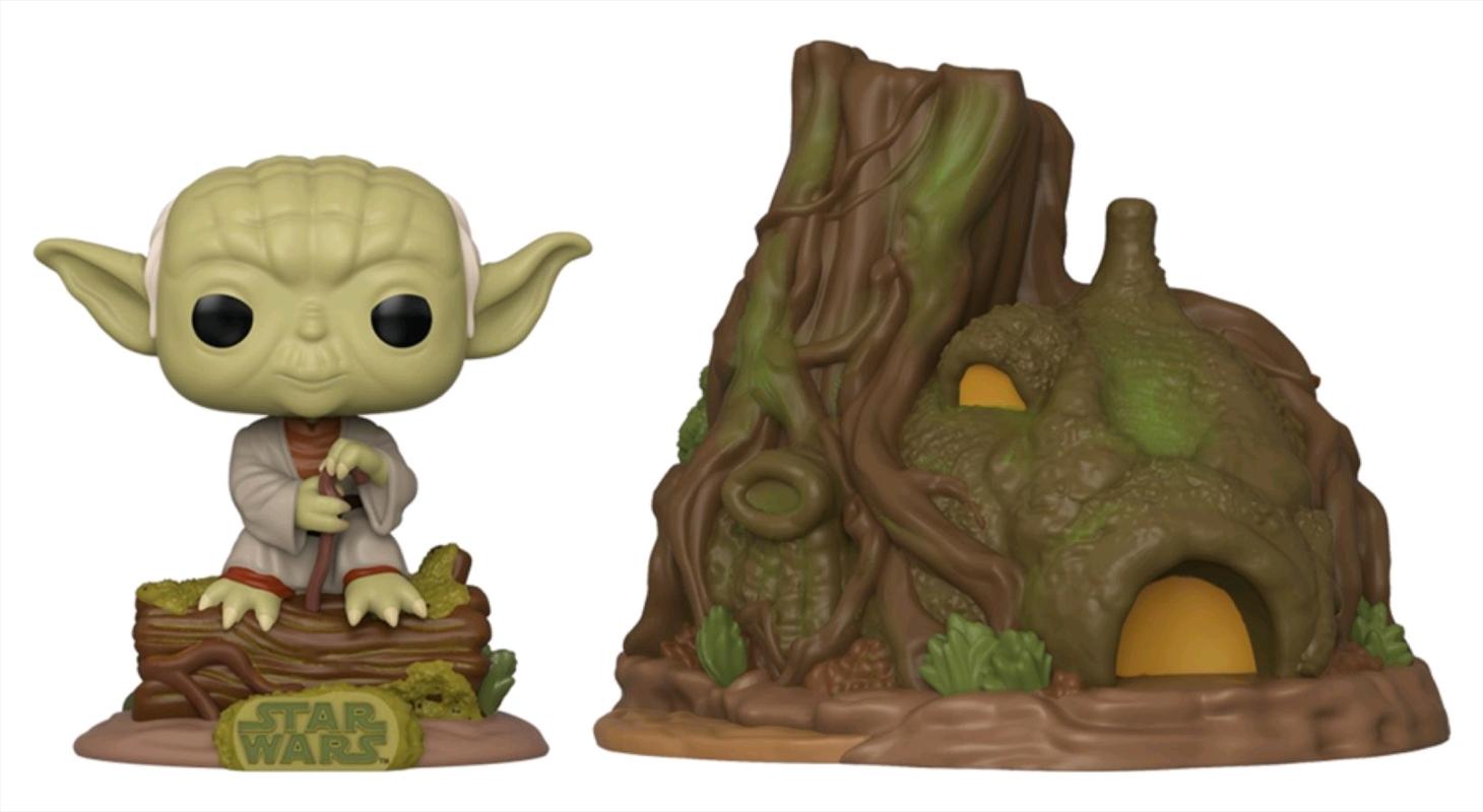 Star Wars - Yoda with Hut Pop! Town | Pop Vinyl