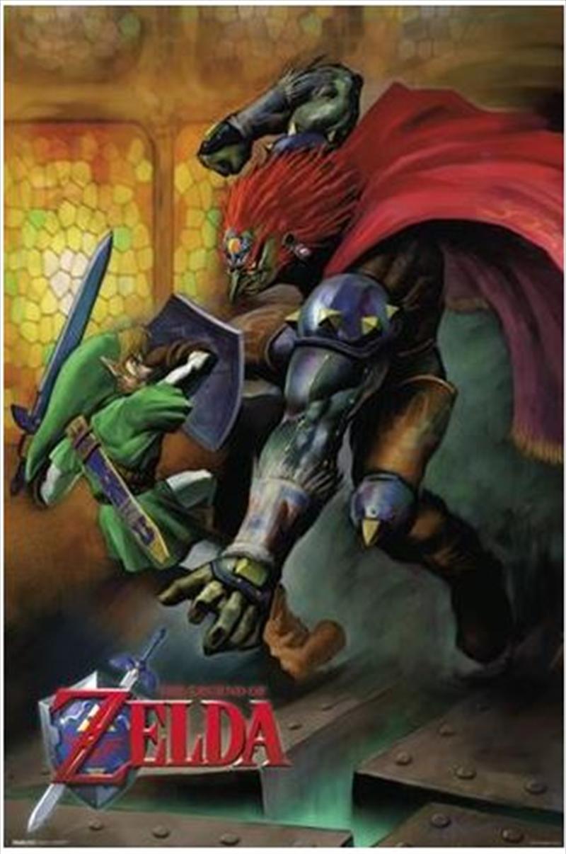 Legend Of Zelda - Link Vs. Ganondorf | Merchandise
