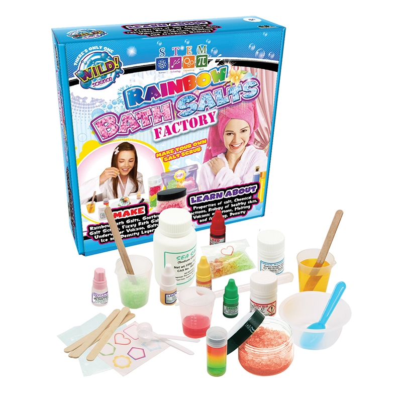 Rainbow Bath Salts Factory | Toy