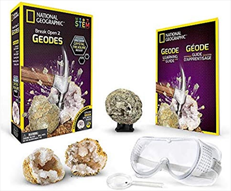 Break Open 2 Real Geodes   Toy