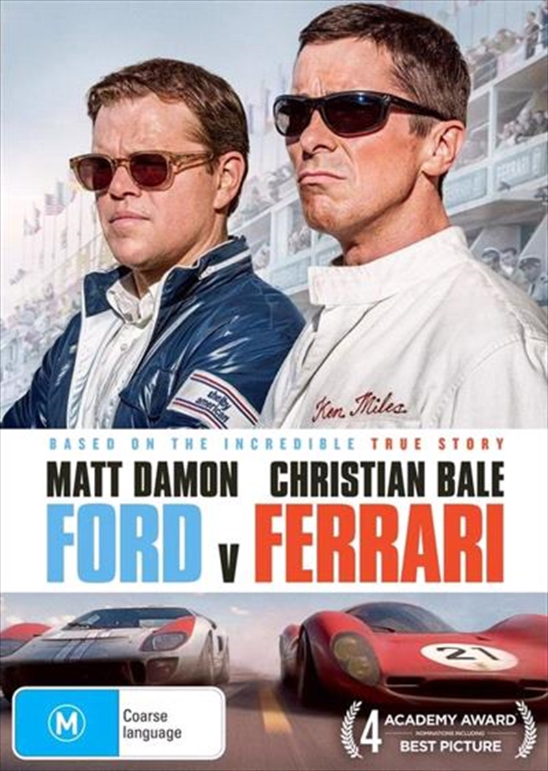 Buy Ford V Ferrari On Dvd Sanity Online