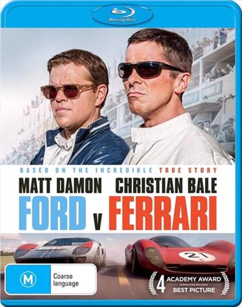 Buy Ford V Ferrari On Blu Ray Sanity Online