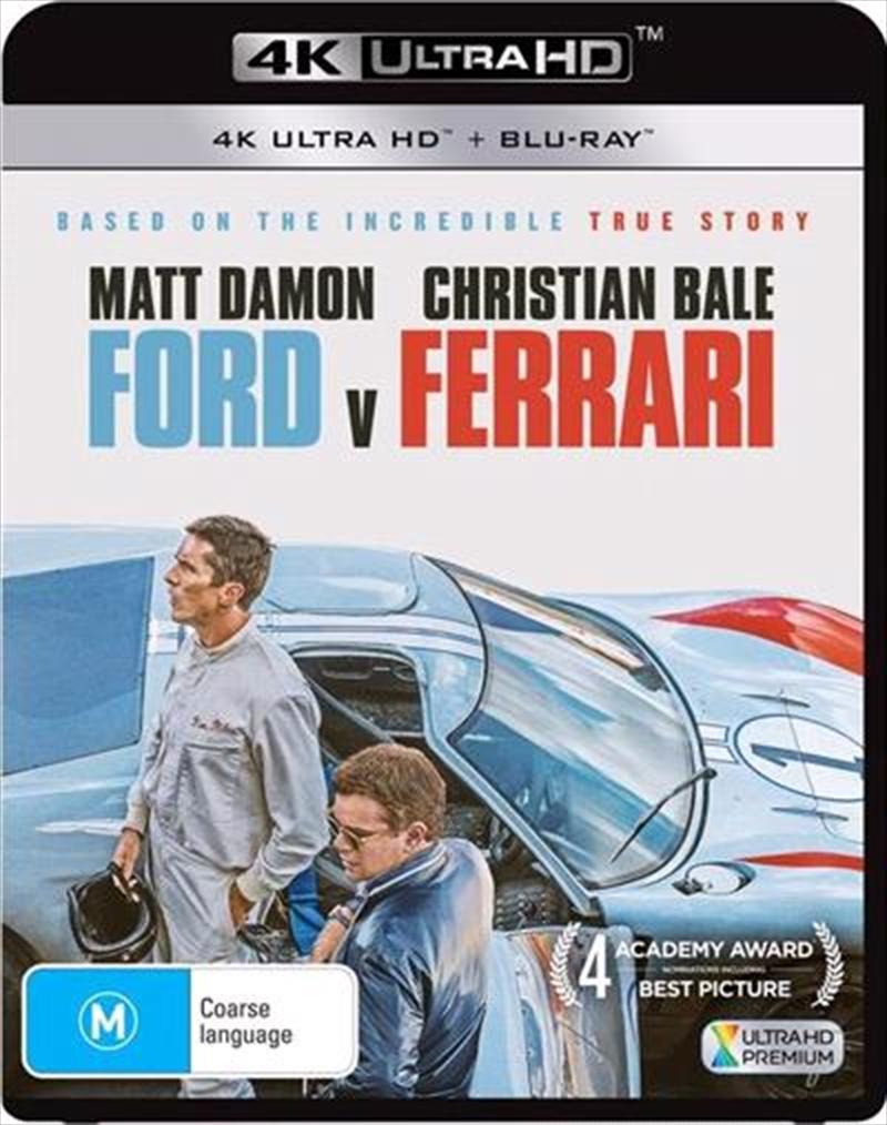Ford V. Ferrari | Blu-ray + UHD | UHD