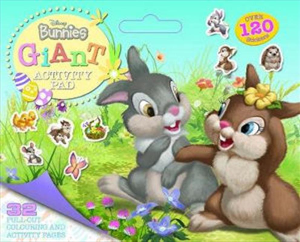 Disney Bunnies - Giant Activity Pad | Paperback Book