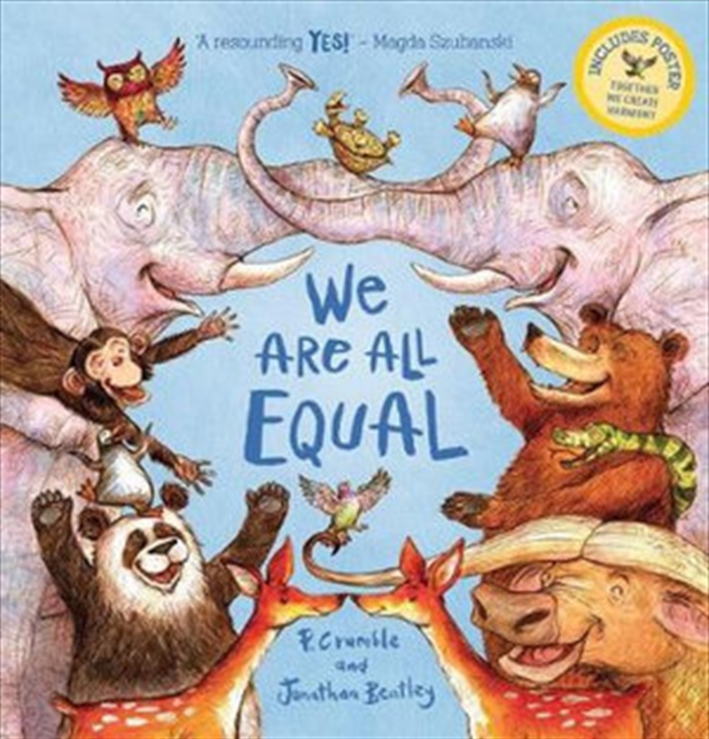 We Are All Equal Plus Poster   Hardback Book