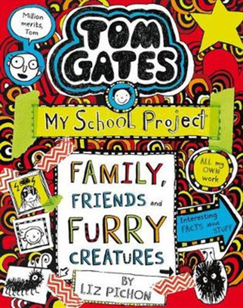Tom Gates #12 Family, Friends and Furry Creatures (re-release)   Paperback Book