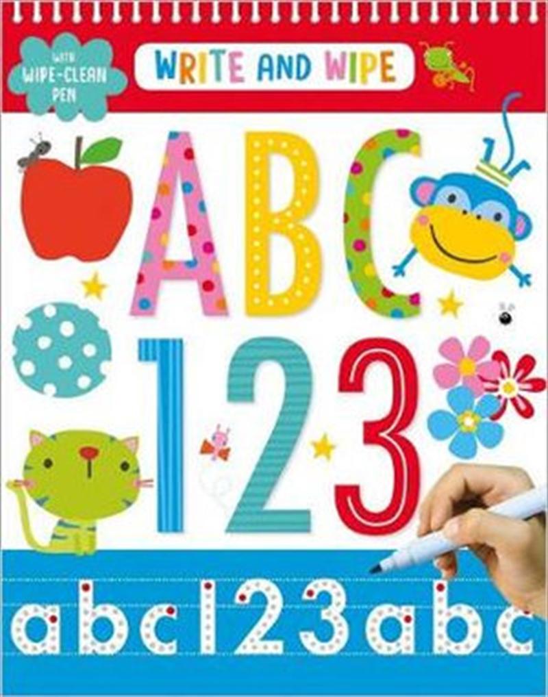 Write & Wipe ABC 123 | Spiral Bound