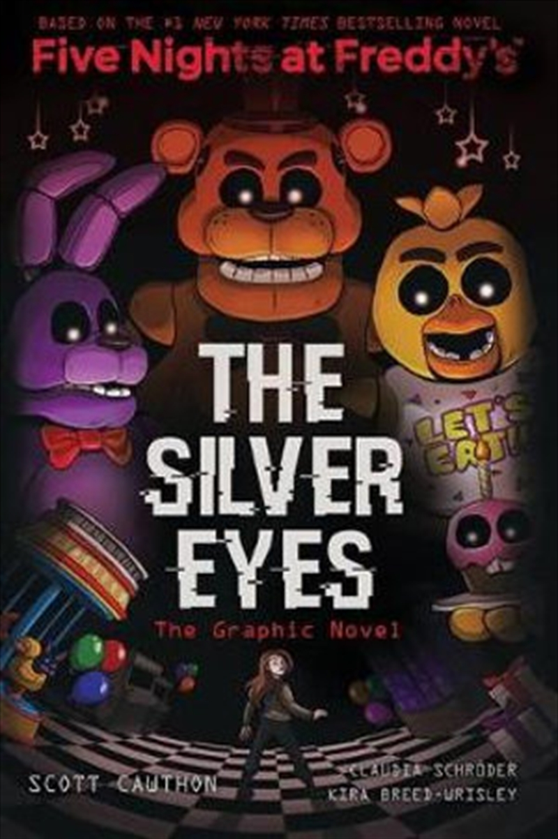 Silver Eyes (Five Nights At Freddy's Graphic Novel #1) | Paperback Book