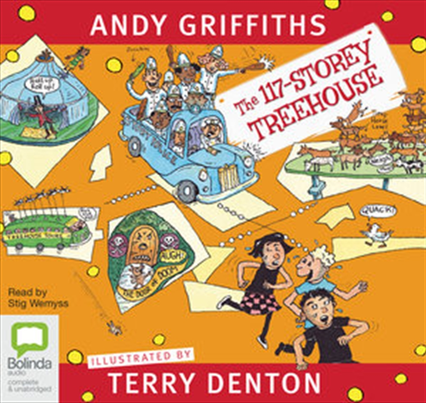 117 Storey Treehouse, The | Audio Book