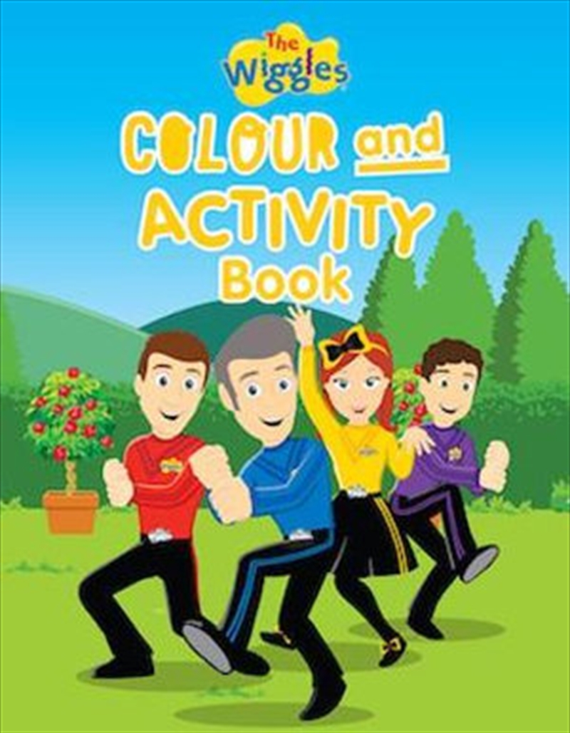 Wiggles: Colour And Activity Book | Paperback Book