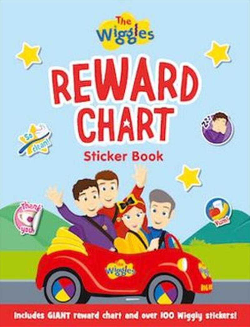 Wiggles: Reward Chart Sticker Book | Paperback Book