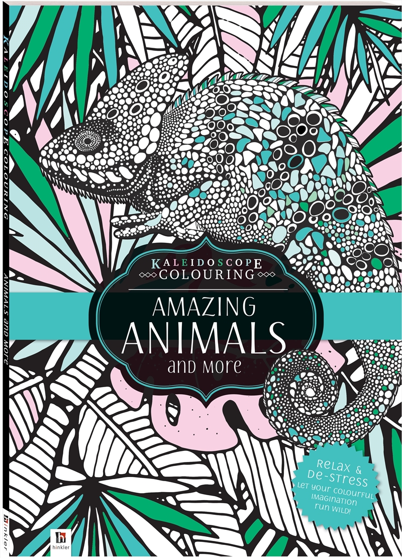 Kaleidoscope Colouring: Amazing Animals and More | Colouring Book