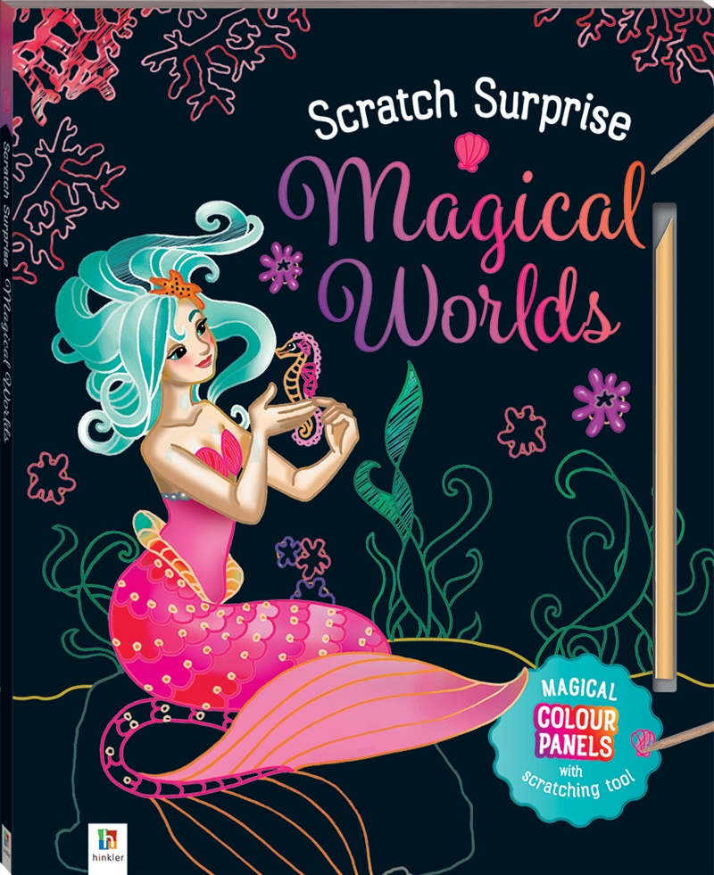 My Magical Scratch Surprise Book | Paperback Book