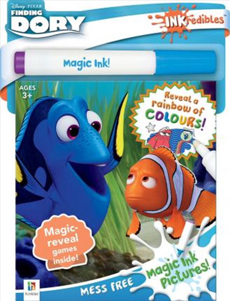 Inkredibles Finding Dory Magic Ink Pictures (2019 Ed) | Colouring Book