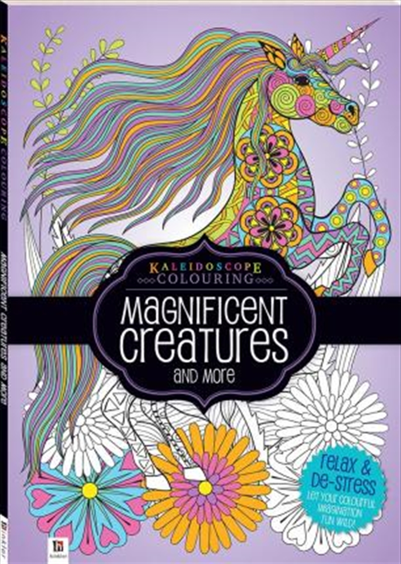 Kaleidoscope Colouring: Magnificent Creatures and More | Colouring Book