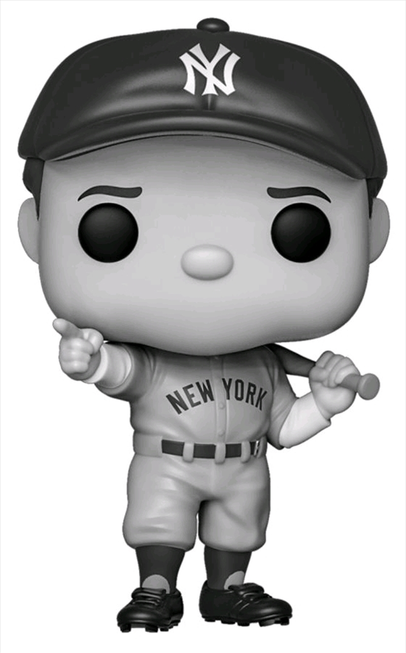 MLB - Babe Ruth Black & White US Exclusive Pop! Vinyl [RS] | Pop Vinyl