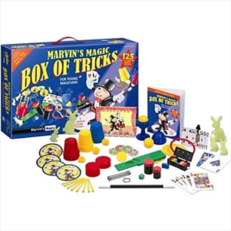 Magic Box Of 125 Tricks   Toy