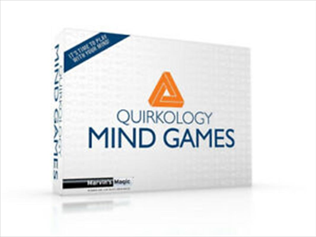 Quirkology Mind Games   Merchandise