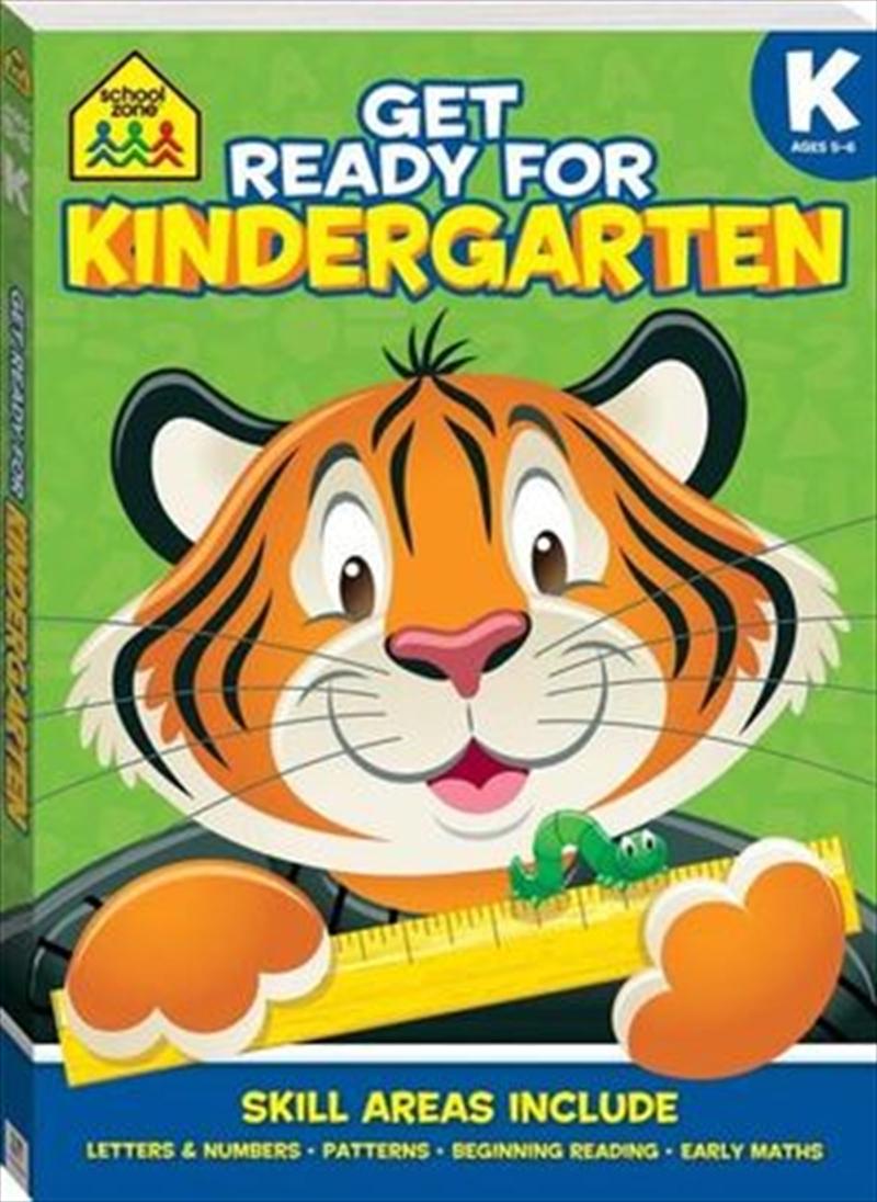 School Zone Get Ready for Kindergarten   Paperback Book