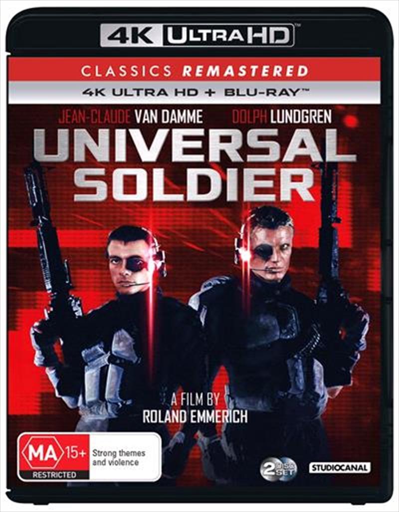 Universal Soldier | Blu-ray + UHD - Classics Remastered | UHD
