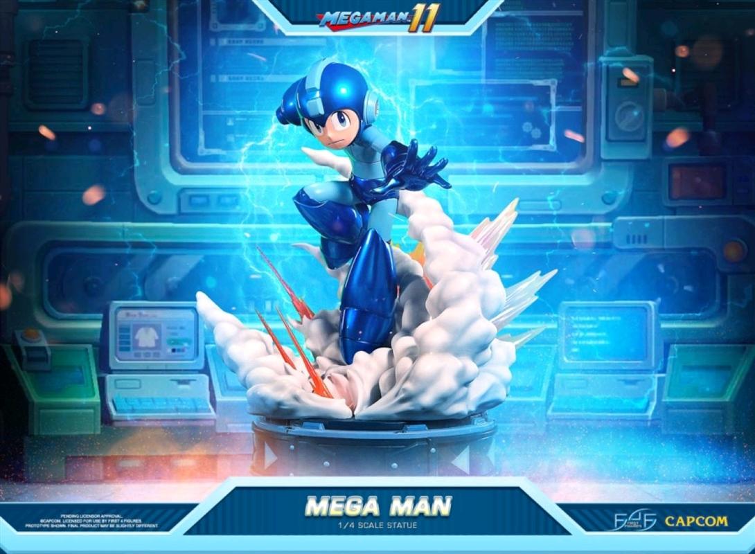 Mega Man XI - Mega Man Statue   Merchandise