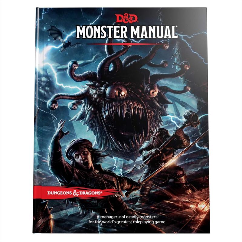 Monster Manual   Merchandise