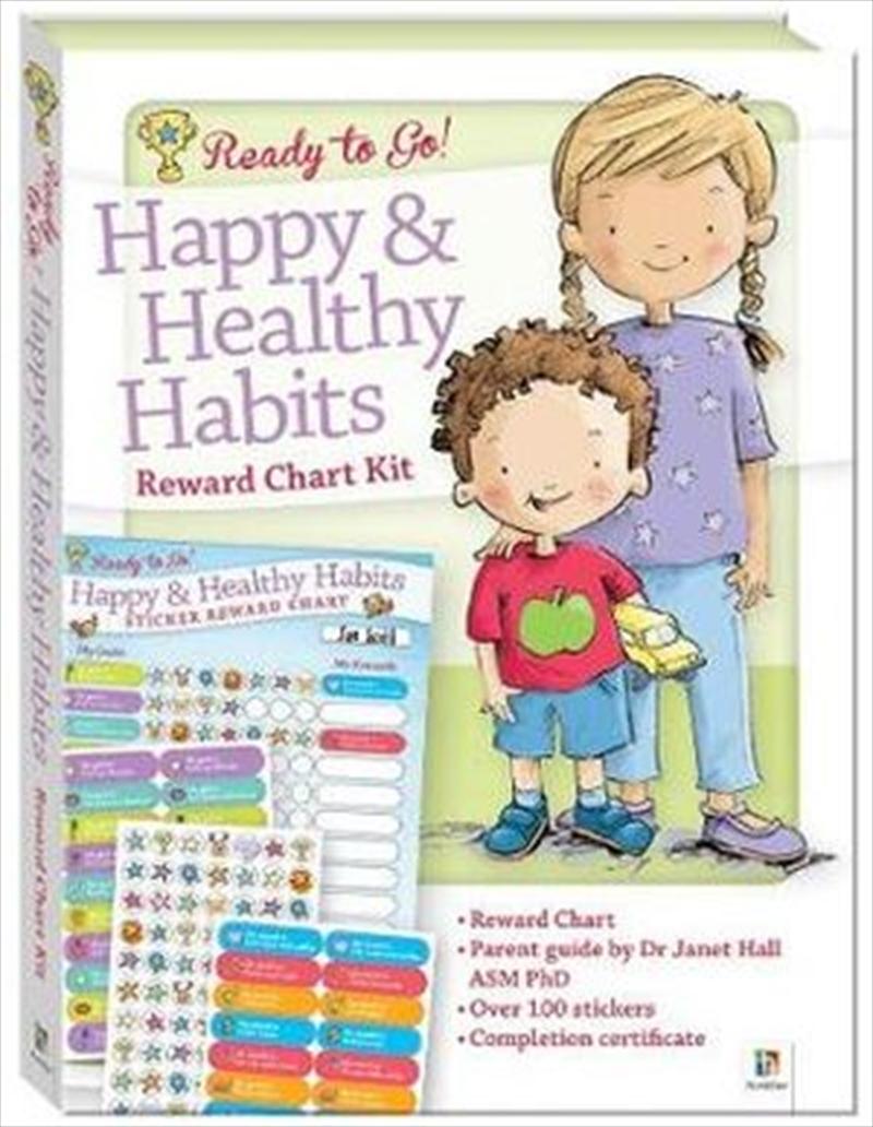 Ready To Go! Reward Chart Happy & Healthy Habits | Books
