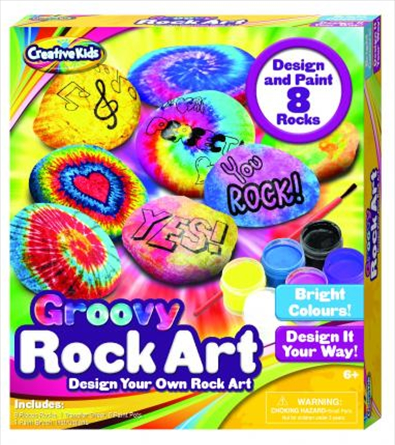 Groovy Rock Art | Merchandise