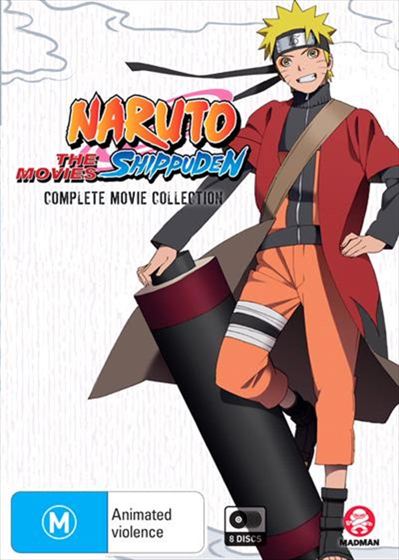 Naruto Shippuden | Complete Movie Collection | DVD