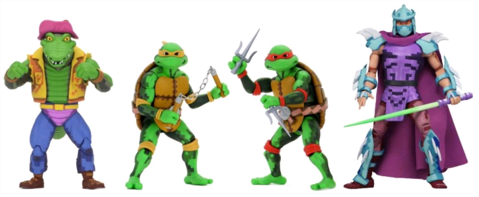 "Teenage Mutant Ninja Turtles - Turtles in Time series 02 7"" Action Figure Assortment   Merchandise"