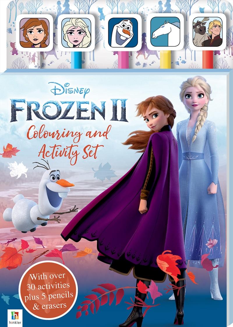 Disney Frozen 2 Colouring & Activity Set | Colouring Book