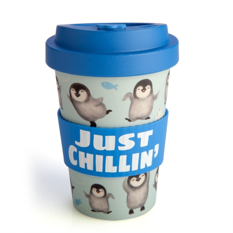 Penguin Eco-to-Go Bamboo Cup   Homewares