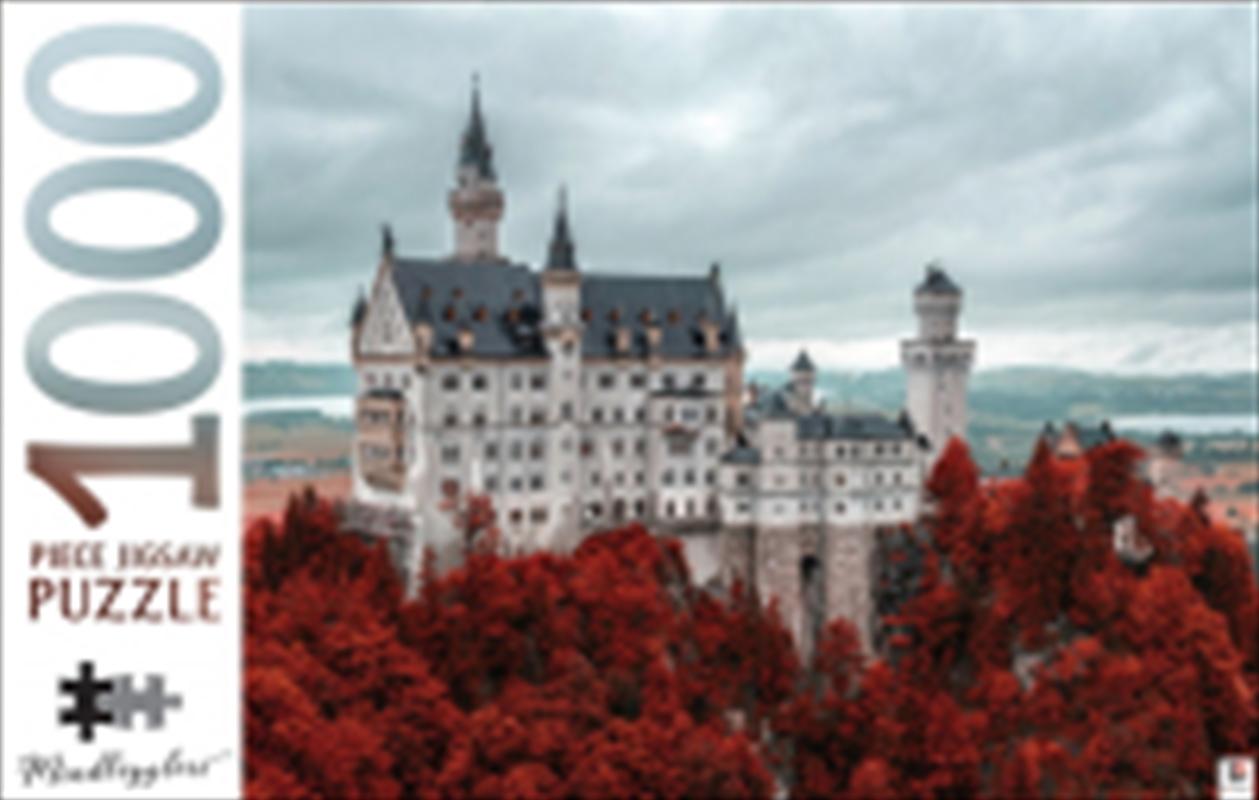 Mindbogglers 1000 Piece - Neuschwanstein Castle Germany   Merchandise