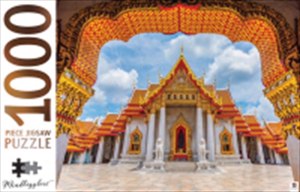 Marble Temple Thailand 1000 Piece Puzzle | Merchandise