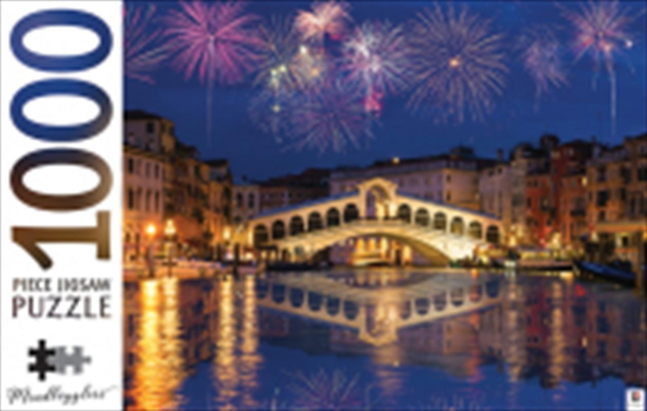 1000 Piece Puzzle Rialto Bridge Venice Italy | Merchandise