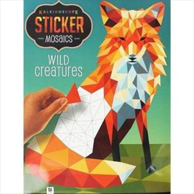 Wild Creatures | Colouring Book