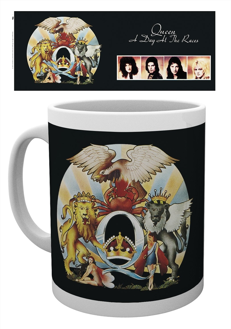 Queen A Day At The Races Mug   Merchandise