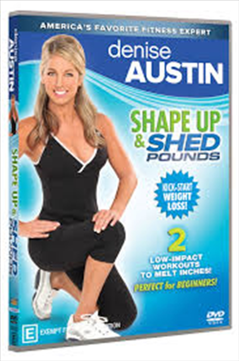 Denise Austin: Shape Up And Shed Pounds | DVD