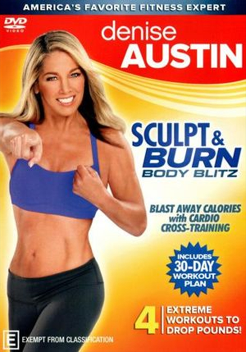 Denise Austin: Sculpt & Burn Body Blitz | DVD